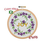 Joy Cross Stitch Kit