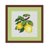 Lemons Cross Stitch Pattern