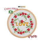 Love Cross Stitch Kit
