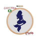 Mermaid Cross Stitch Kit