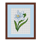 Narcissus Cross Stitch Pattern.
