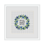 Office Cross Stitch Kit. Office Sweet Office Cross Stitch Kit