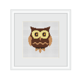 Owl Cross Stitch Pattern. Cross Stitch PDF Pattern.