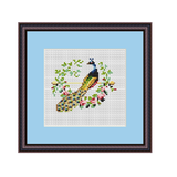 Peahen Cross Stitch Pattern. Cross Stitch PDF Pattern.