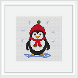 Penguin Cross Stitch Kit