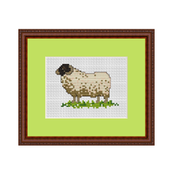 Sheep Cross Stitch Pattern. Cross Stitch PDF Pattern.