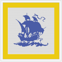 ship cross stitch pattern