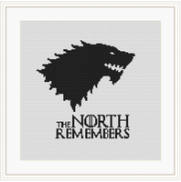 The North Remembers Cross Stitch Kit
