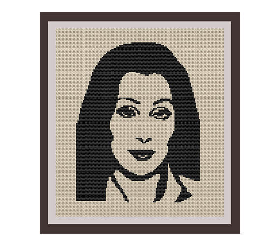 Cher Cross Stitch Pattern