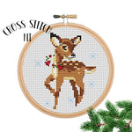 Little Deer Cross Stitch Kit