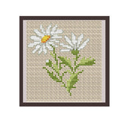 Daisy Cross Stitch Pattern.