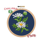 Daisy Cross Stitch Kit