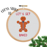 Let's Get Baked Cross Stitch Kit