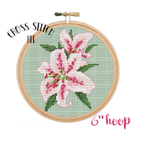 Lilies Cross Stitch Kit