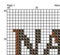 Namast'ay In Bed All Day Cross Stitch Pattern. PDF Pattern.