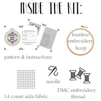 Office Sweet Office - Cross Stitch Kit