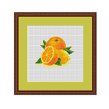 Oranges Cross Stitch Pattern