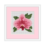 Instant Download Orchid Cross Stitch Pattern