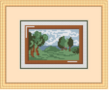 Painting Cross Stitch Pattern