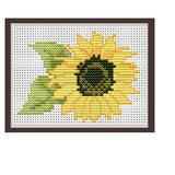 Sunflower Cross Stitch Pattern.