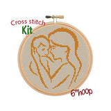 Mother With Baby Cross Stitch Kit