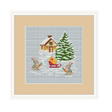 Winter Fairy Tale Cross Stitch Kit