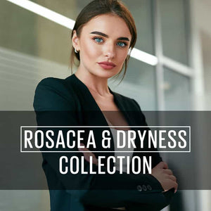 Ensemble rosacée et sécheresse de la peau | Rosacea and Dryness Collection | FEY Cosmetics