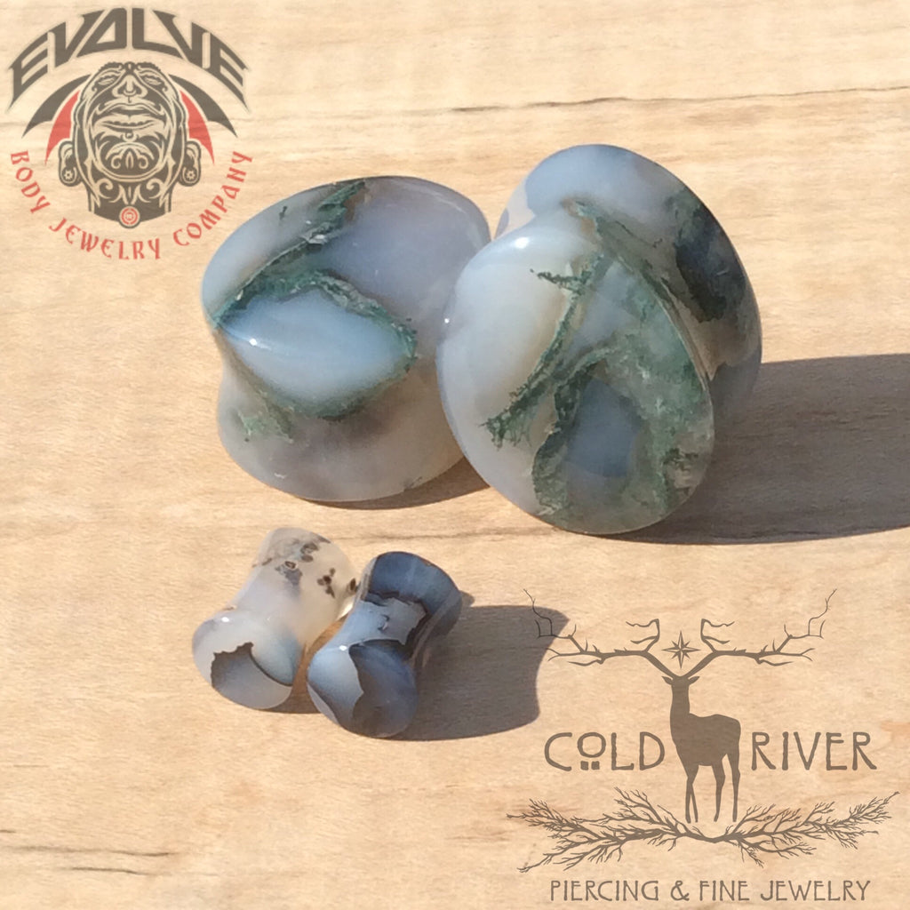 Moss Agate Set from Evolve