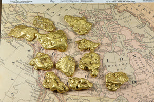 A Brief Insight into the Different Types of Gold Nuggets