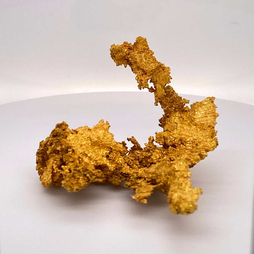 #0220 Large Crystalline Gold Specimen Original 16-1 Mine California 71.45 Grams Genuine 2.3 oz