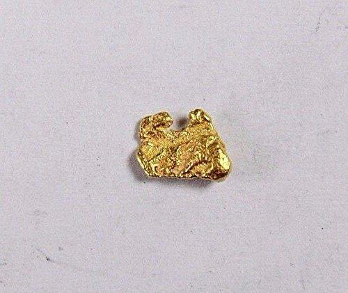 Alaskan-Yukon Bc Gold Rush Natural Nugget 0.28 Grams Genuine Alaska .10-.34