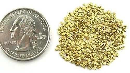 Alaskan Yukon Gold Rush Nuggets #25-20 Mesh 5 Grams Of Clean Gold Flakes. Bc Flake