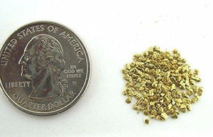 Alaskan Yukon Gold Rush Nuggets #25 Mesh 2 Grams Bc Flake