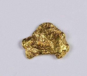 Alaskan-Yukon Bc Gold Rush Natural Nugget 0.22 Grams Genuine Alaska .10-.34