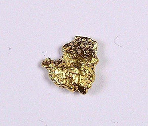 Alaskan-Yukon Bc Gold Rush Natural Nugget 0.33 Grams Genuine Alaska .10-.34