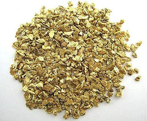 Alaskan Yukon Gold Rush Nuggets 12-10 Mesh 1/2 Troy Oz 15.5 Grams Or 10 Dwt Bc Flake