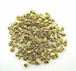Alaskan Yukon Gold Rush Nuggets 18-16 Mesh .05 Troy Oz.1.55 Grams Or 1 Dwt Bc Flake