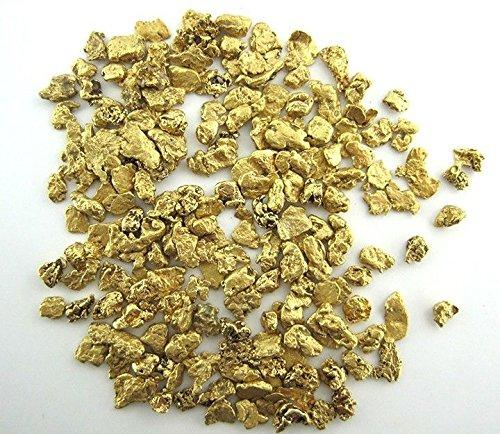 Alaskan Yukon Bc Gold Nuggets #8 Mesh 10 Troy Ounce 311 Gram Or 200Dwt Flake