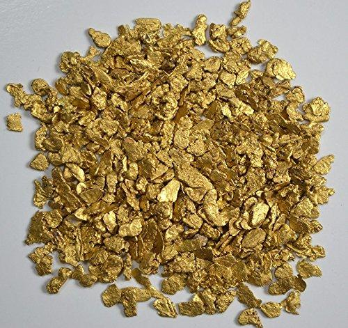 Alaskan Yukon Gold Rush Nuggets 12-10 Mesh 10 Grams Of Clean Gold Flakes Bc Flake