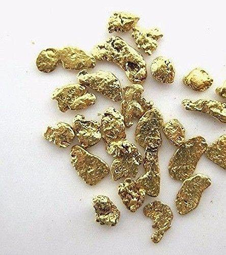 Alaskan Yukon Gold Rush Nuggets 14-12 Mesh 1 Gram Of Fines Bc Flake