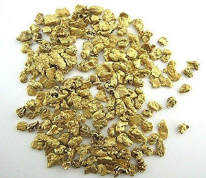 Alaskan Yukon Gold Rush Nuggets 5 Zt Total 1-Ozt # 6 8 10 12 & 14 Mesh Each Bc Flake