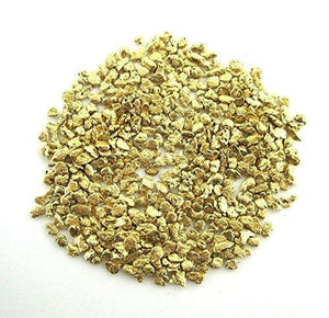 Alaskan Yukon Gold Rush Nuggets 18 -16 Mesh 5 Grams Of Clean Gold Flakes Bc Flake