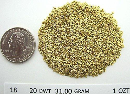 Alaskan Yukon Gold Rush Nuggets 18-16 Mesh 10 Troy Ounce 311 Grams Bc Flake