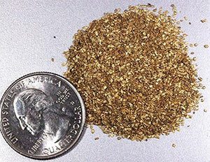 Alaskan Yukon Gold Rush Nuggets #50 Mesh 1/2 Troy Oz 15.5 Grams Bc Flake