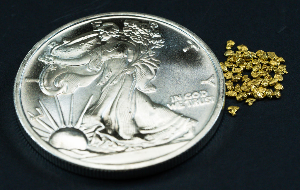 Silver 1  Oz Coin Walking Liberty .999 Silver + 50 Piece Lot of #16 Mesh