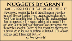 Alaskan Bc Natural Gold Nugget 50 Gram Lot Of .70 To 5 Gram Nuggets Genuine Alaska Lots/groups