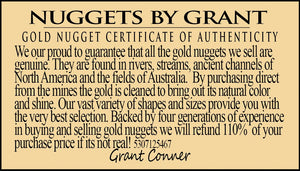 Large Natural Gold Nugget Australian 1 246.3 Grams 40.07 Troy Ounces Very Rare Aussie Nuggets Over
