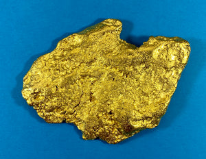 "Large Natural Gold Nugget Australian ""THE BIG AU"" 709.9 Grams 22.82 Troy Ounces Very Rare"
