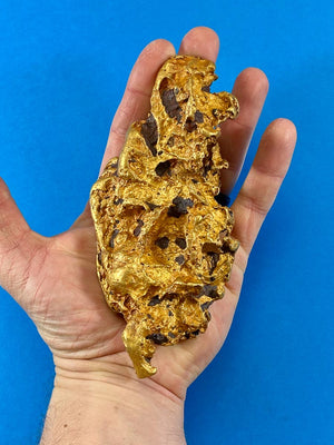 Large Natural Gold Nugget Australian 1197.34 Grams 38.5 Troy Ounces Very Rare