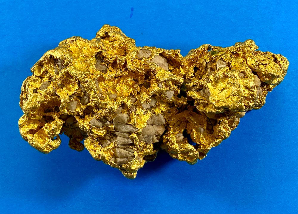 Large Natural Gold Nugget Australian 1461.15 Grams 46.98 Troy Ounces Very Rare
